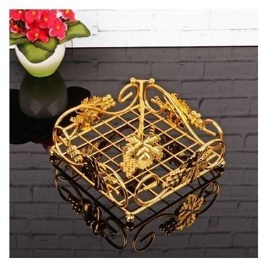 Arow Altın Üzümlü Peçetelik Renkli